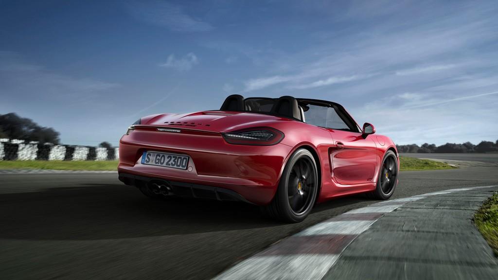 Porsche Boxster Cayman Zukunft - Zukunft Porsche Boxster und Cayman: 4-Zylinder und bis zu 400 PS!