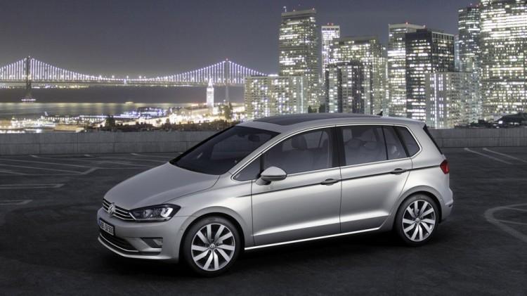 Genf 2014: VW Golf Sportsvan TDI BlueMotion verbraucht nur 3,6 Liter