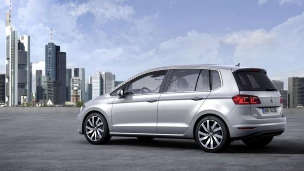 VW Golf Sportsvan mit BlueMotion Technologie