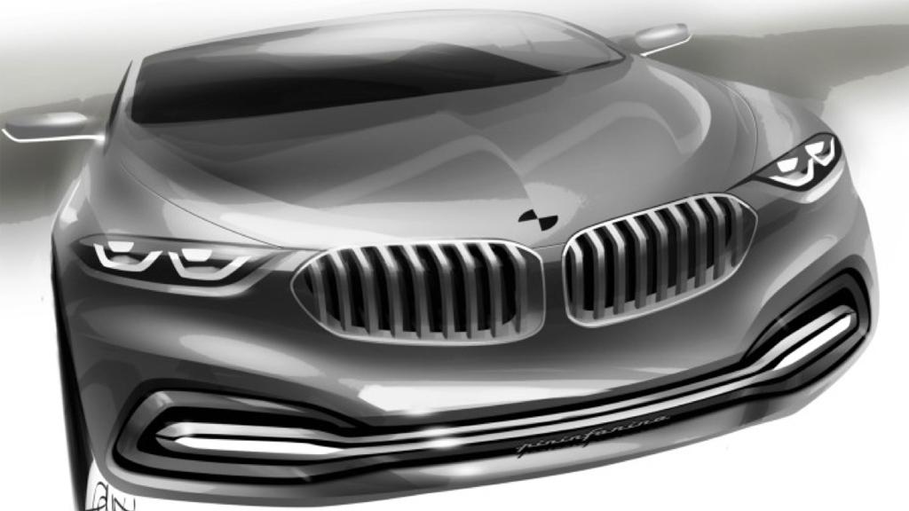 BMW 9er Zeichnung - BMW 9er: Der Super-Luxus kommt.