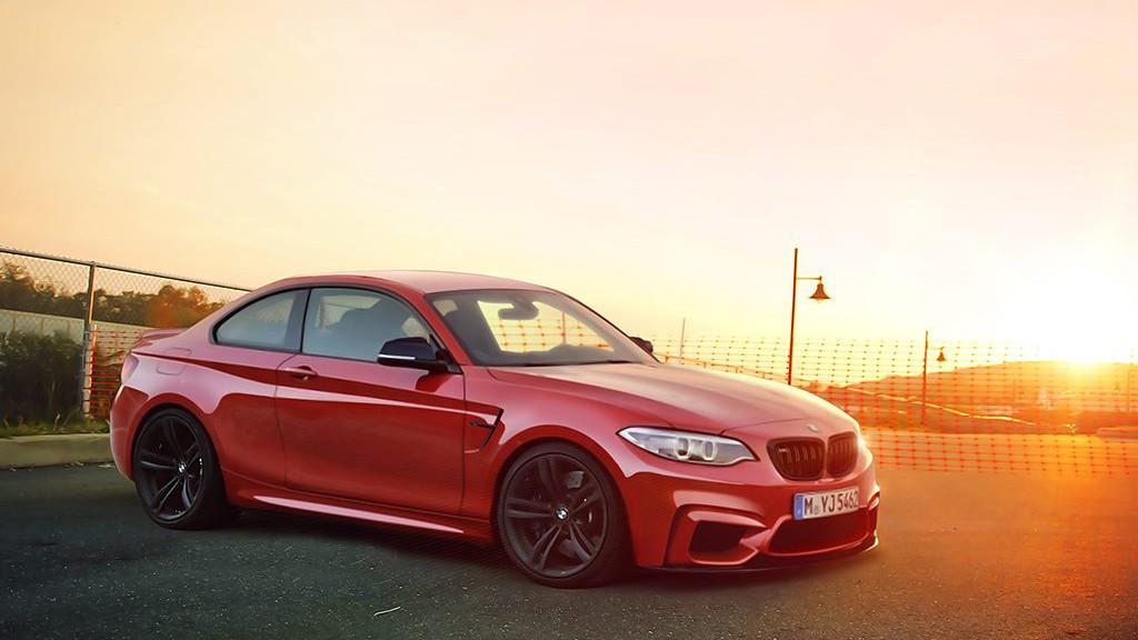 BMW M2 Halbfront