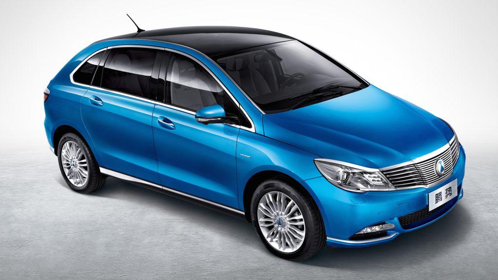 Auto China 2014: Elektroauto Denza soll 300 km Reichweite leisten