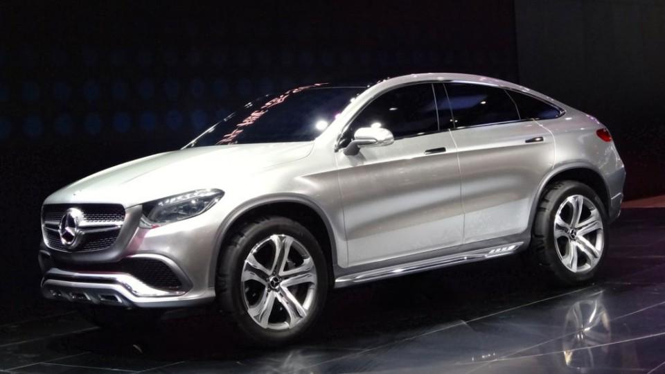 Auto China 2014: Mercedes-Benz Concept Coupé SUV