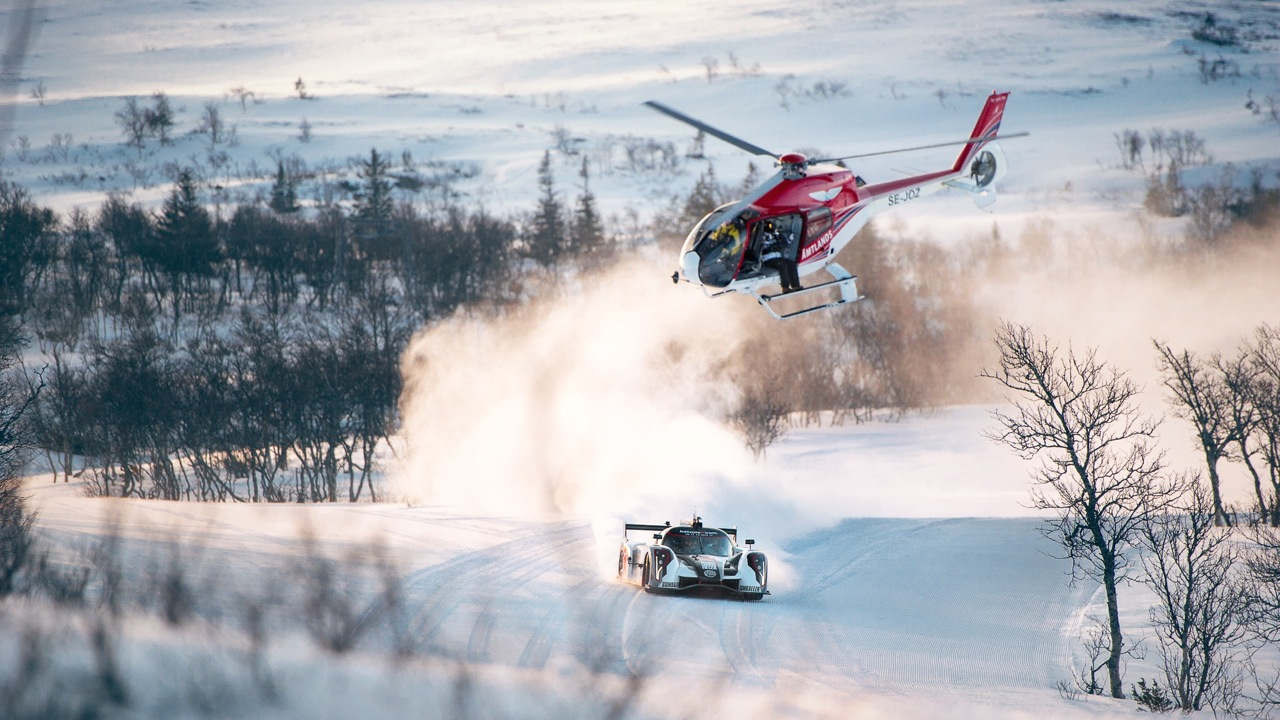 rebellion r2k jon olsson heli snow winter wrc rally supercar DSC7075 Redigera1 - Verkaufsstart: VW Polo TDI BlueMotion ab 16.850 Euro