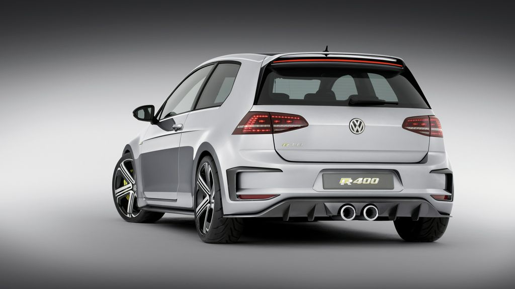 vw golf r 400 video und technische daten der neuen studie. Black Bedroom Furniture Sets. Home Design Ideas