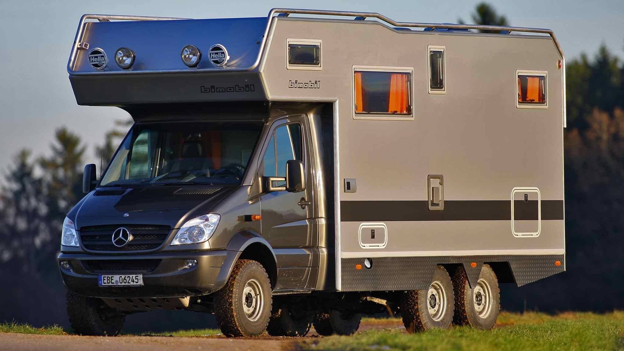 bimobil EX 510 - 6x6 Allradantrieb auf Mercedes Sprinter Basis