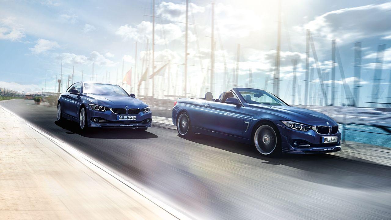 BMW Alpina B4 Cabrio und Coupe (2014)