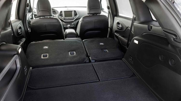 Jeep Cherokee Kofferraumvolumen und Anhängelast
