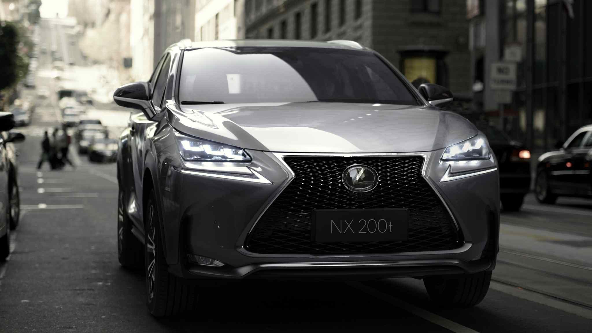 Lexus NX - neues Kompakt SUV für 2014. Preise noch nicht bekannt