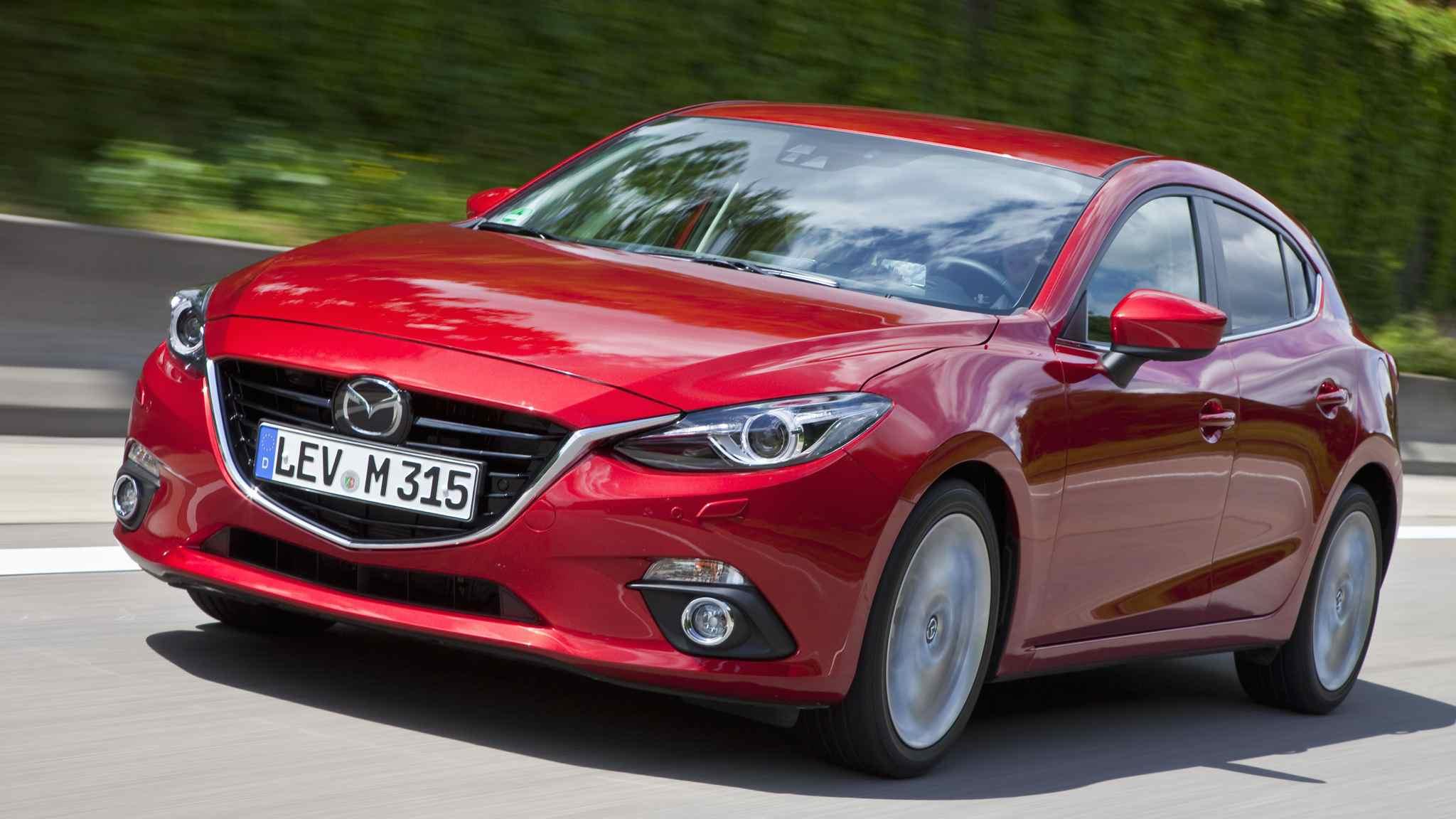 Neuer Mazda 3 mit Skyactive Technologie