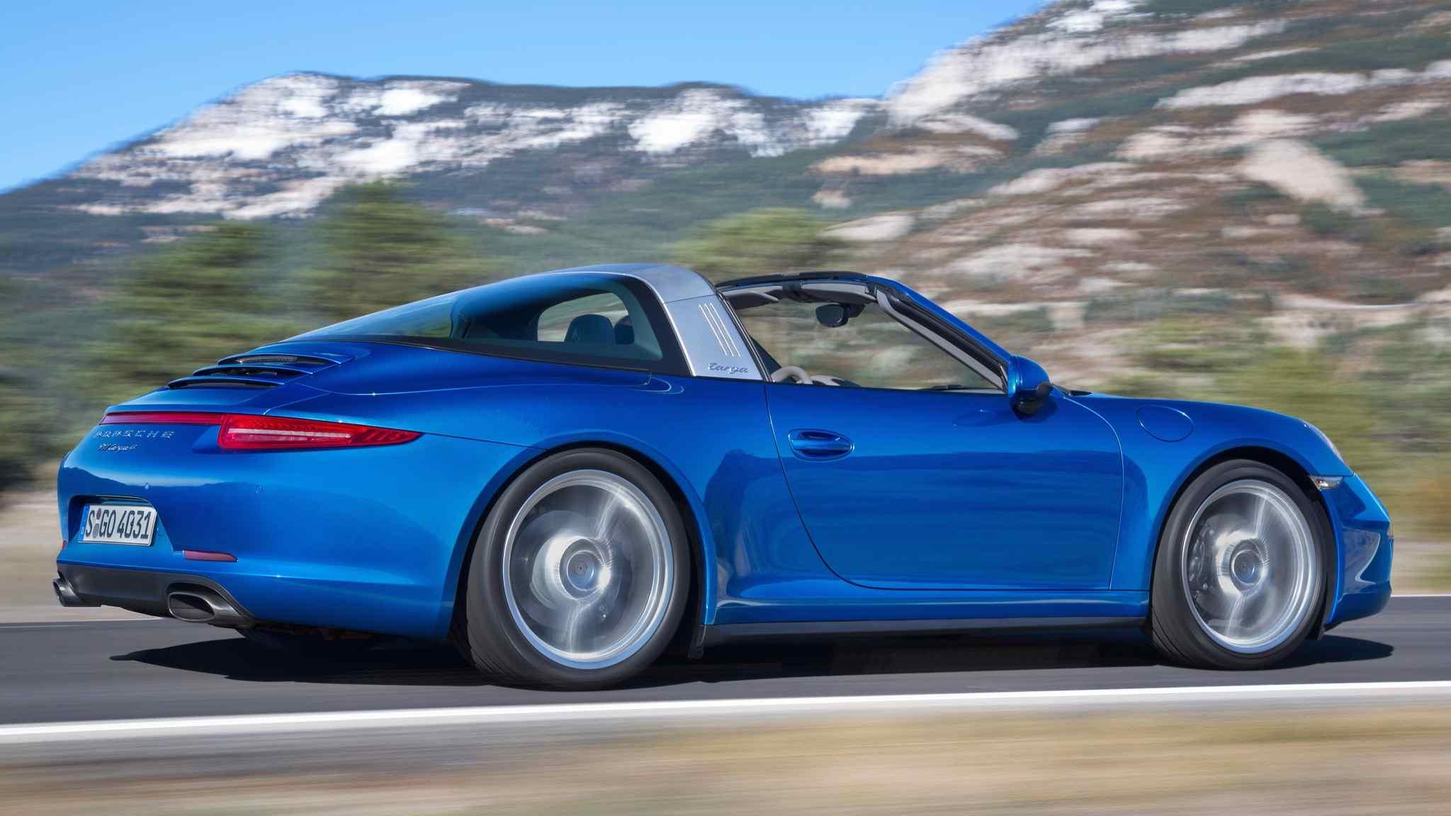 Porsche 911 Targa: Preise und Motoren des neuen 911er