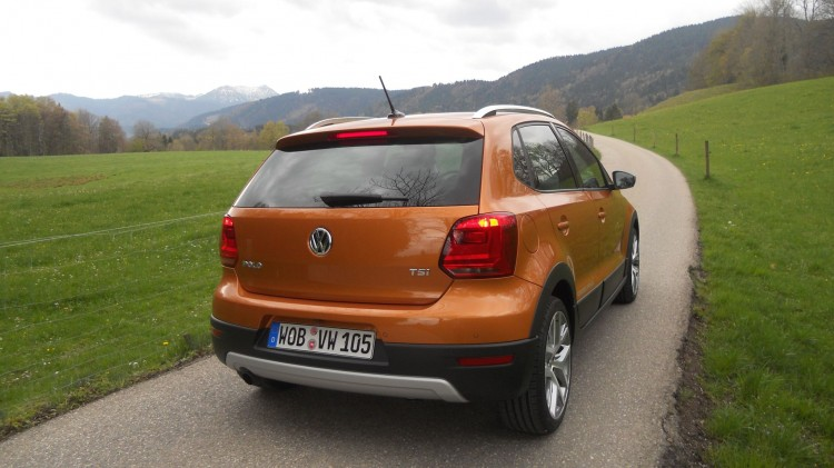 VW Cross Polo mit 32 mm mehr Bodenfreiheit