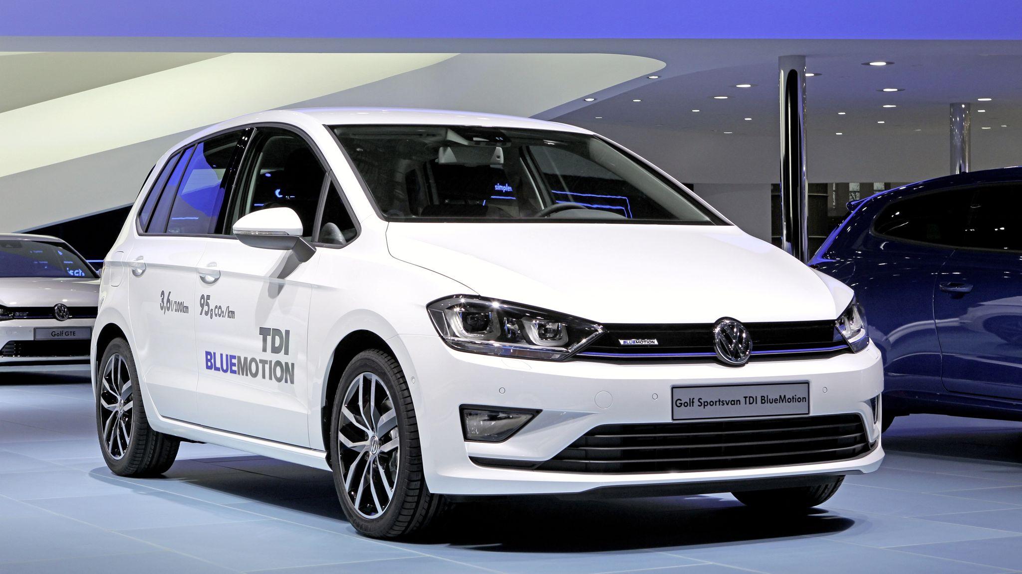 Preise für den neuen Golf Sportsvan BlueMotion TDI beginnen bei 24.125 Euro