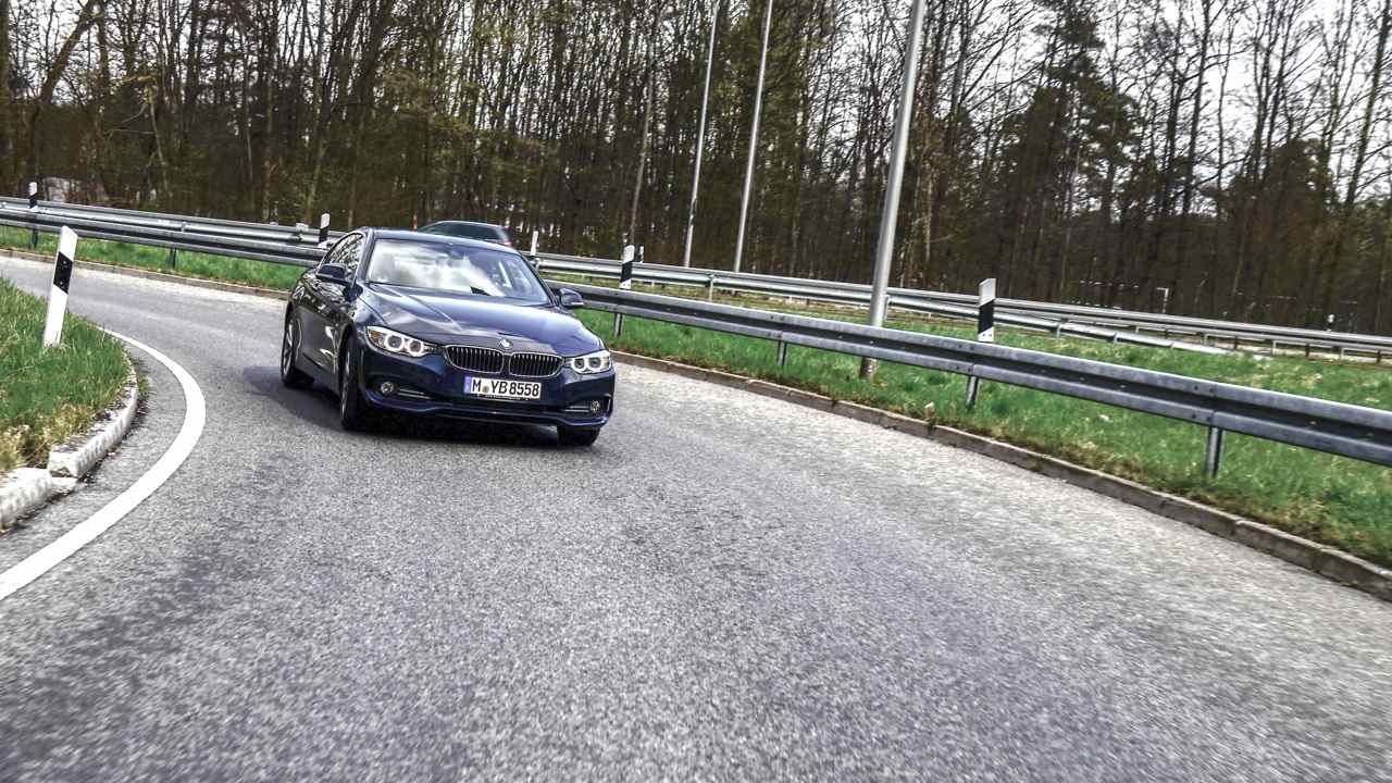 BMW 4er Coupe12 - BMW 430d Coupé: der wunderschöne Einheitsbrei zum Mitschwimmen