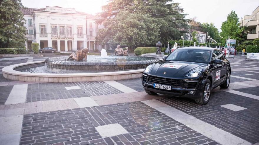Porsche Macan in Italien