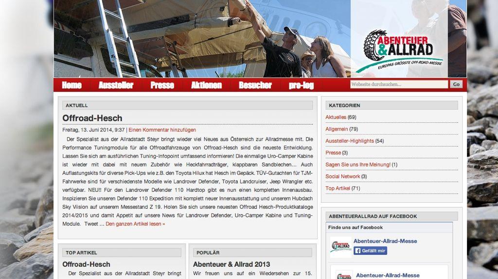 Abenteuer Allrad 2014: Die wichtigsten Infos für Besucher