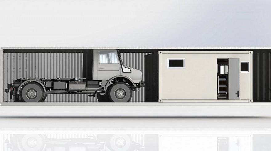 bliss expeditionsmobile mj2014 img 03 880x493 - Expeditionsmobil von Bliss: Fernreisetauglicher Allrad-LKW aus den Niederlanden