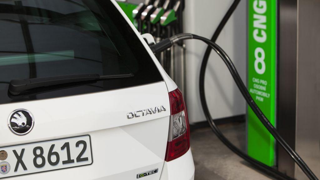 Skoda Octavia mit Erdgas