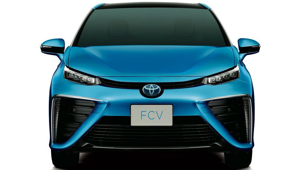 Toyota FCV: Brennstoffzellen-Fahrzeug kommt 2015 auf den Markt