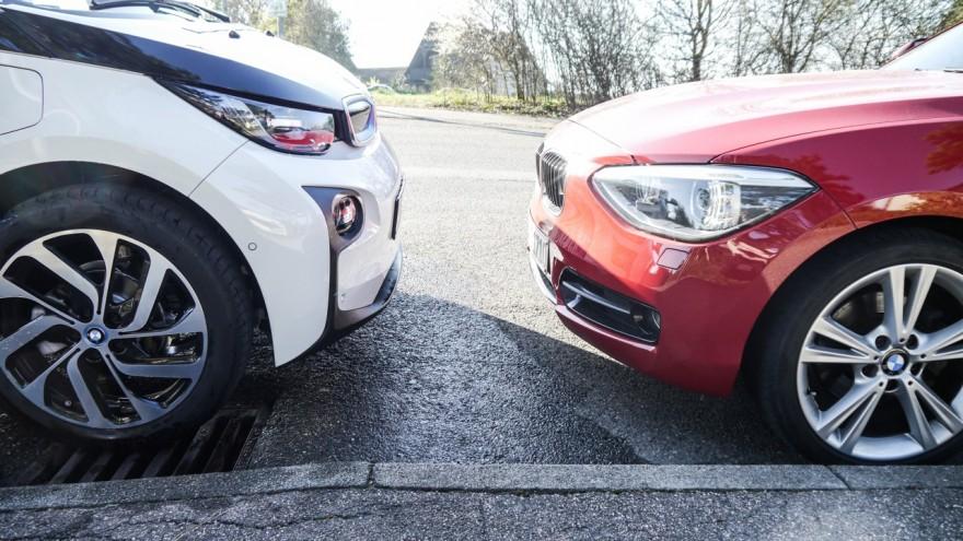 Vergleich BMW 120d und i3