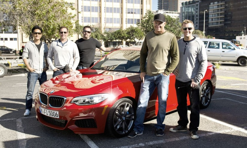 BMW M235i Drift in Kapstadt