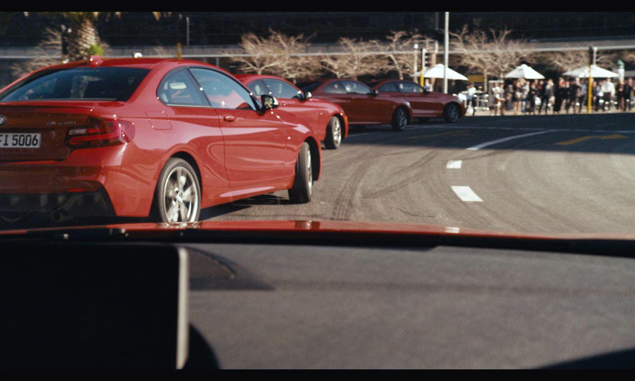 BMW M235i Drift in Kapstadt 15 - BMW M235i Coupé: 20 heiße Reifen im Kreisverkehr!