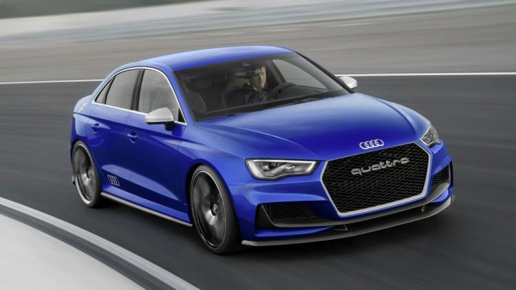 Audi A3 Clubsport quattro – mehr als 500 PS Dynamik