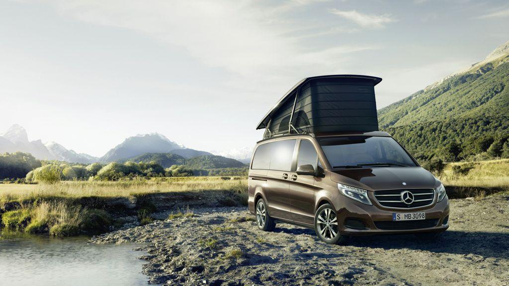 Caravan-Salon 2014: Neuer Marco Polo von Mercedes-Benz