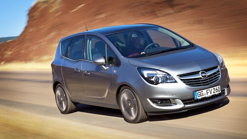 Opel präsentiert neuen Meriva als sparsamen Diesel