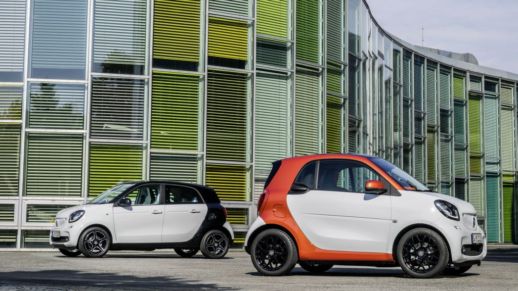 Smart Fortwo und Smart Forfour ab 2014