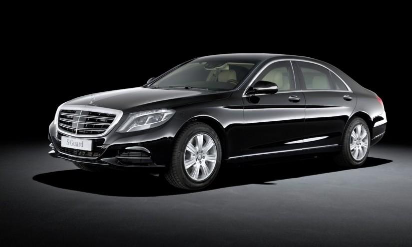 1Mercedes Benz S600 Guard 08 825x495 - Mercedes S600 Guard: gut gerüstet für Terroristen und andere Psychopaten.