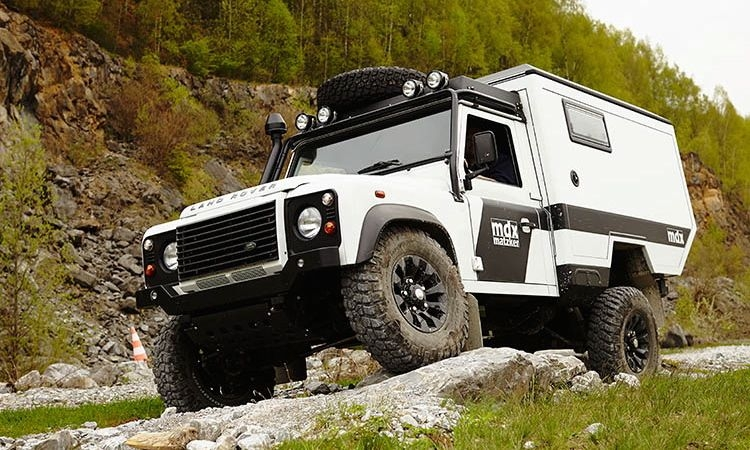 Matzker Defender mdx 09 - Expeditionsmobil Matzker Defender mdx: Raus in die Wildnis.