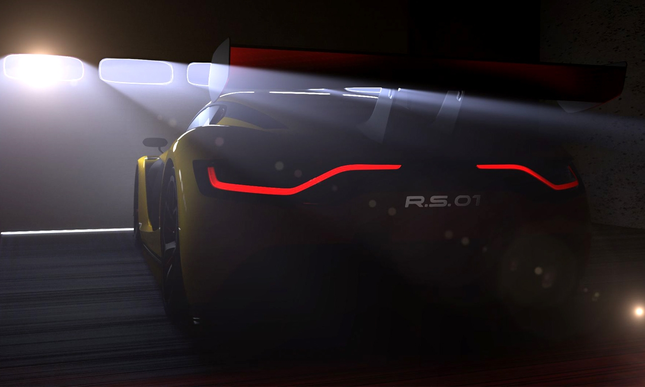 Renault R.S. 01 - Renault R.S. 01: Die Studie erwacht zum Leben!