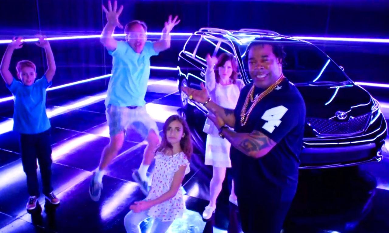 Swagger Wagon Busta Rhymes Toyota Sienna - Toyota Sienna: Dieser Werbeclip mit Busta Rhymes ist einfach nur peinlich