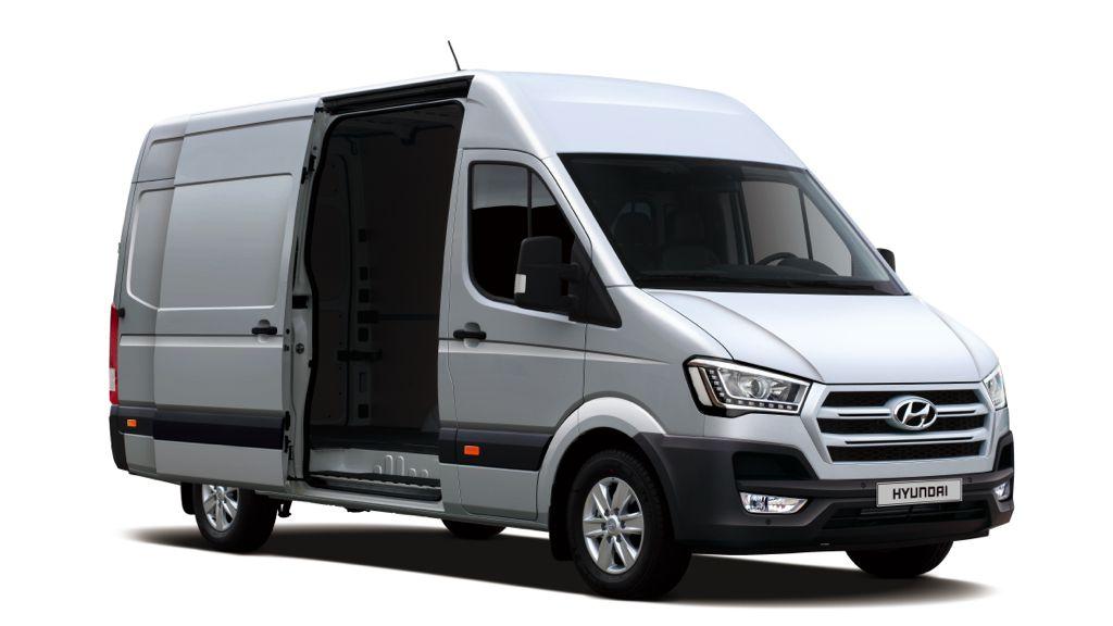 Hyundai H350 neuer Kastenwagen für Europa
