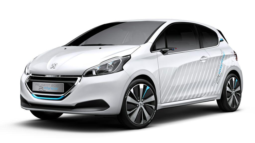 Paris 2014: Peugeot 208 HYbrid Air soll nur 2 Liter verbauchen