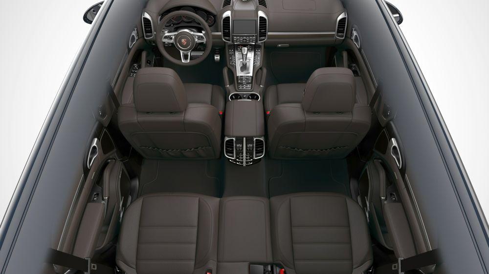 Neuer Porsche Cayenne: Kofferraum, Abmessungen und Anhängelast