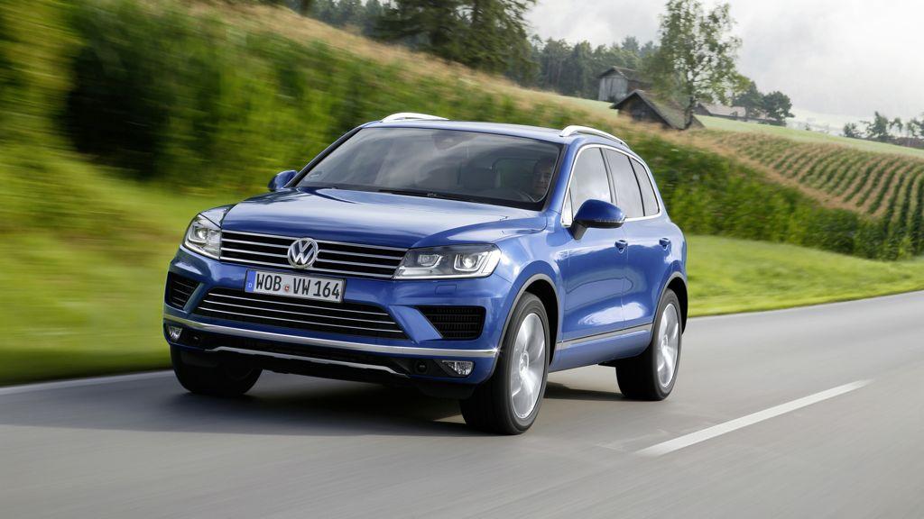 Preie und Unterhaltskosten Volkswagen Touareg