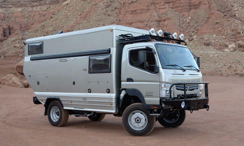 Fuso Canter 4×4 All Terrain Warriors: Daimler ist überall!