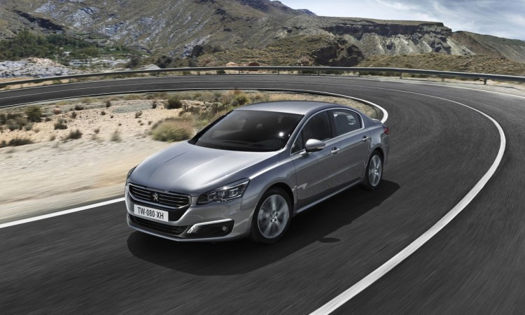 Der neue Peugeot 508 hat kein überarbeitetes Fahrwerk.