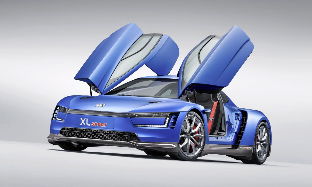 1Volkswagen XL Sport 03 - Volkswagen XL Sport: Mit 890 Kilogramm auf 270 Km/h!