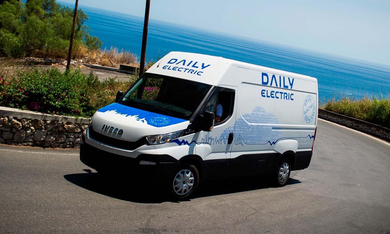 Iveco Daily Electric: Lautloser Packesel mit größerer Reichweite.