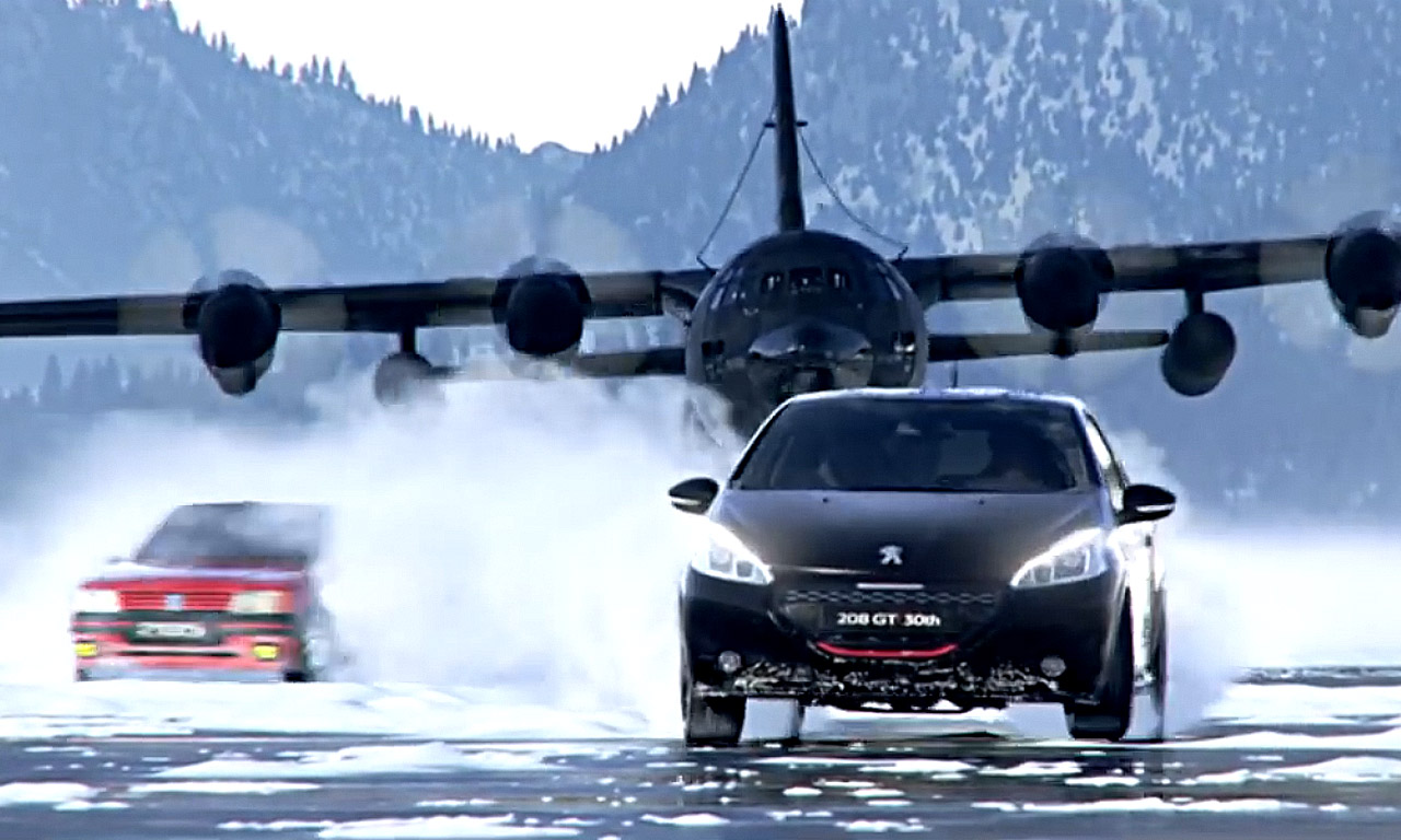 Peugeot 208 GTi Verfolgungsjagd