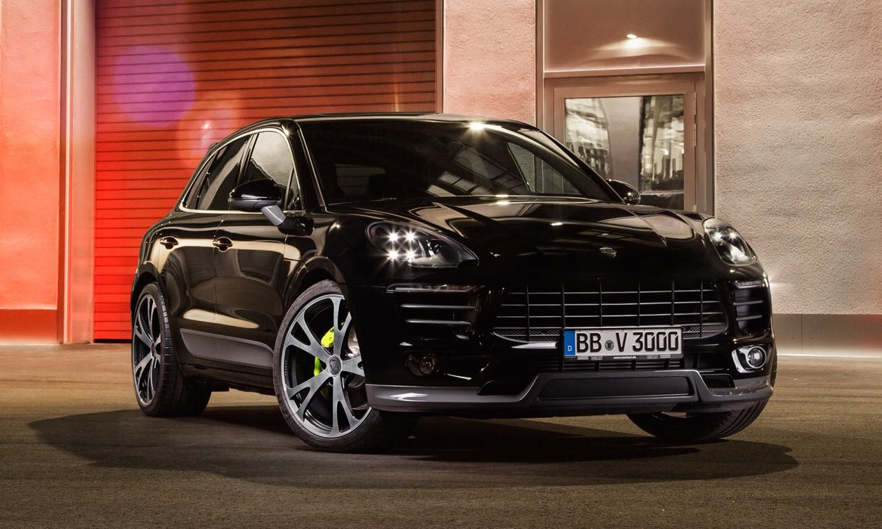 Techart Porsche Macan Turbo 450 Ps Mit Extrovertiertem