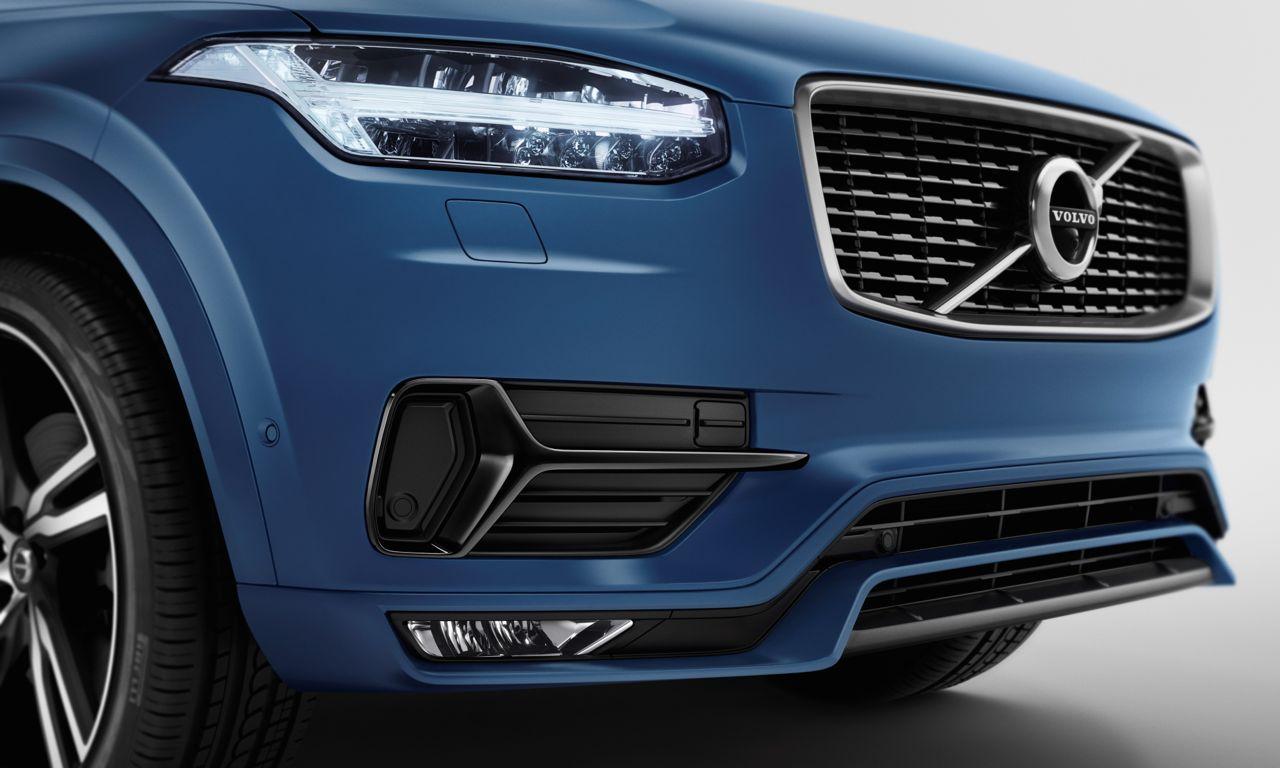 Volvo XC90 R-Design: Geschärfte Linien für den Schweden-SUV.