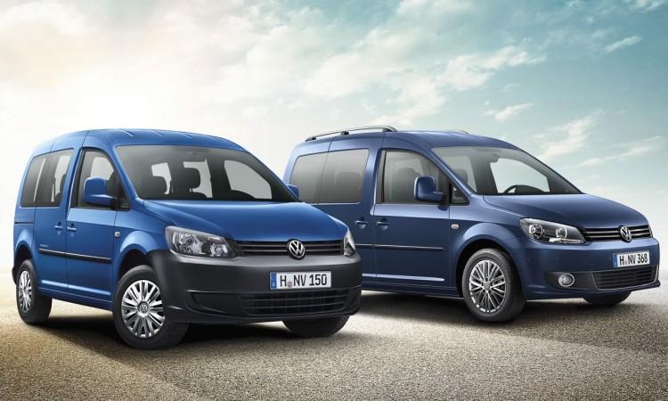 Volkswagen Caddy jetzt als Team Sondermodell.