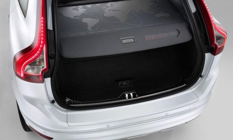 Der Kofferraum des Volvo XC60 D4 AWD