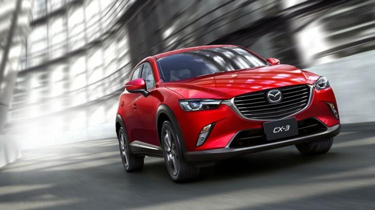 Mazda CX-3: Zu Preisen von rund 20.000 Euro kommt das kleine SUV in Deutschland auf den Markt