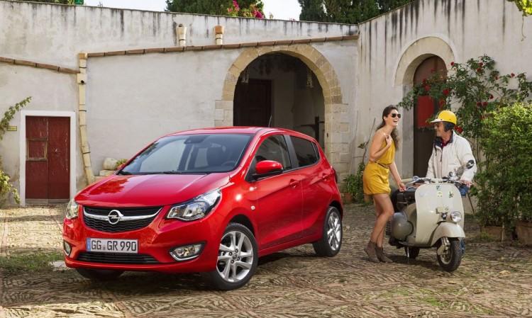 Opel Karl kommt für unter 10.000 Euro auf den Markt.