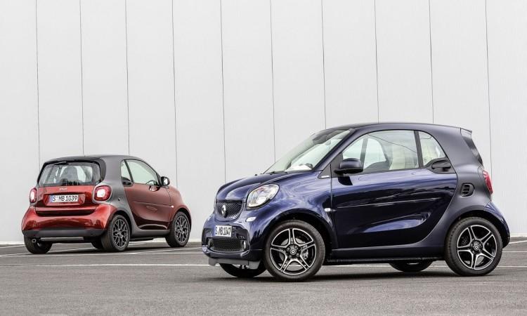 Der neue Smart fortwo jetzt ab 10.335 Euro.